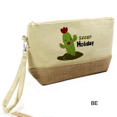 BEACH BAG POUCH CACTUS(CH0003-MP0012)