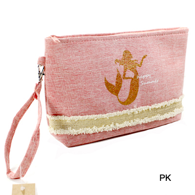 BEACH BAG POUCH GLITTER MERMAID(CH0005-MP0016)