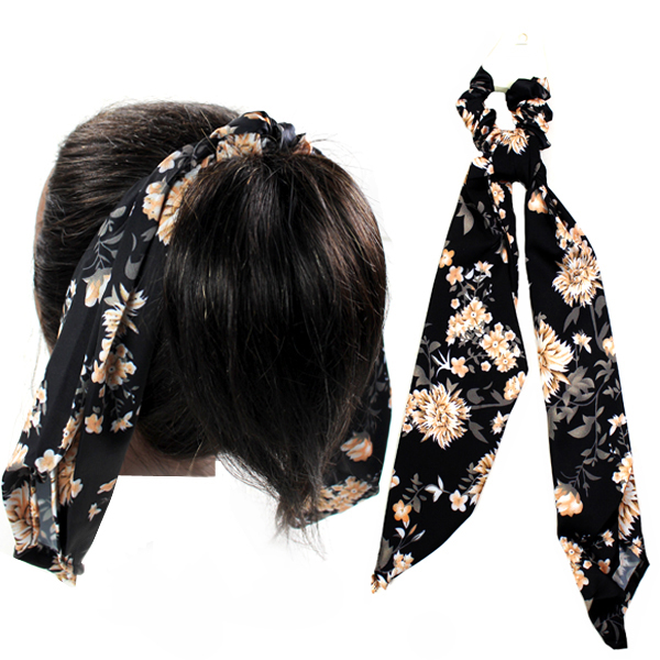 FASHION RUBBER HAIR SLIDE(HB0015-HSE0049)