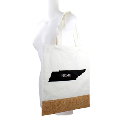 "COTTON&CORK ""TN""STATE MAP SHOPPING BAG(HF0060-MB0003TN)"