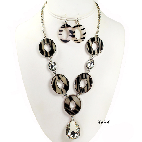 "FASHION ANIMAL PRINT NK SET18""(NT0277-QNE9391)"