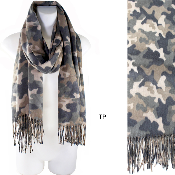 FASHION CAMO SOFT SCARF(SCA0010-MS0073)