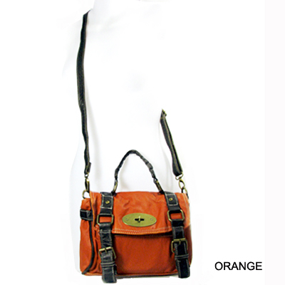 WASH LEATHER LOOK HANDBAG(SH0002-WH6030)