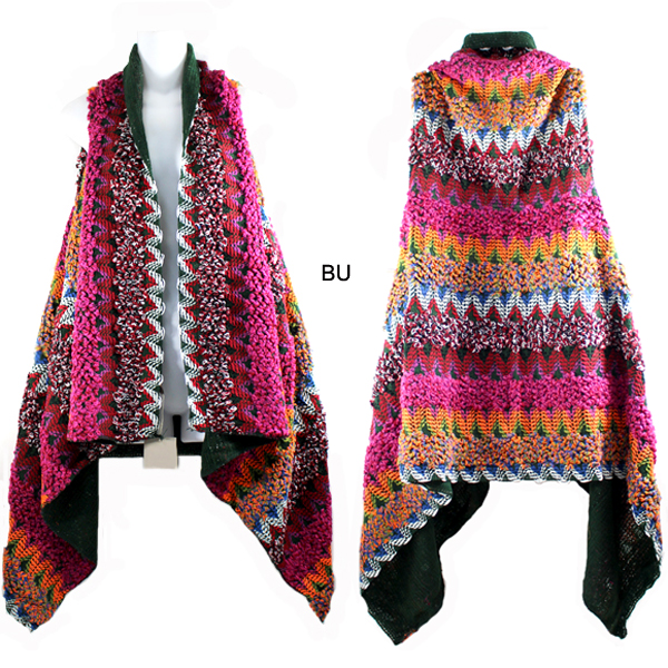 FASHION MULTI COLOR VEST(SH0023-MSV0008)